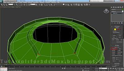 گام سی و دوم طراحی قوطی در 3DMax