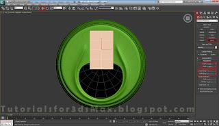 گام سی و چهارم طراحی قوطی در 3DMax