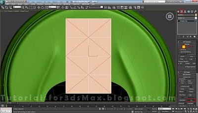 گام سی و پنجم طراحی قوطی در 3DMax