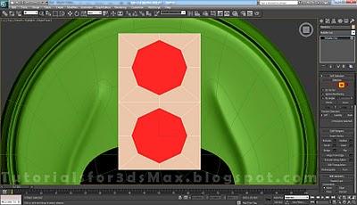 گام سی و هفتم طراحی قوطی در 3DMax