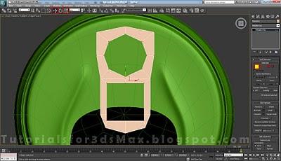 گام سی و هشتم طراحی قوطی در تری دی مکس
