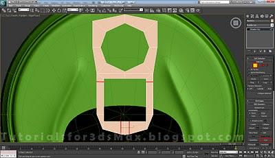 گام سی و نهم طراحی قوطی در 3DMax