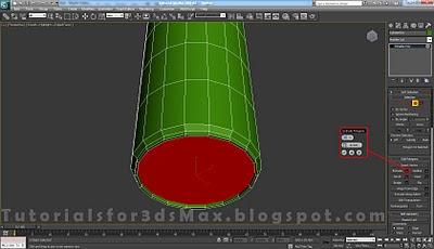 گام پنجم طراحی قوطی در 3DMax