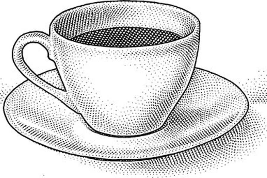 مدلسازی فنجان در تری دی مکس