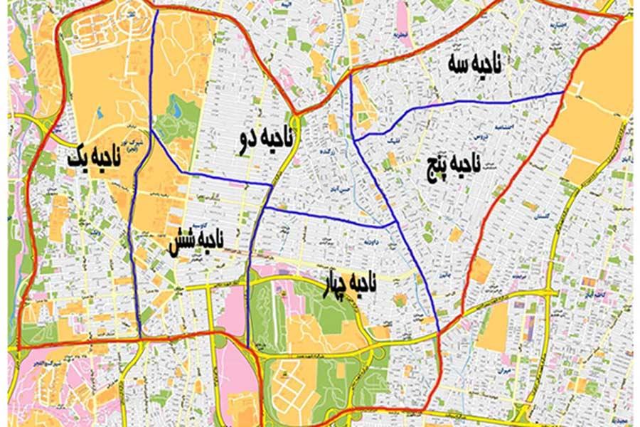 طرح تفصیلی منطقه 3 تهران