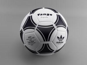 نتیجه نهایی طراحی توپ در تری دی مکس