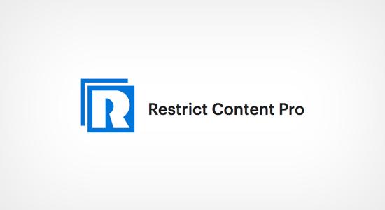 پلاگین و افزونه Restrict Content Pro