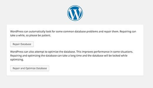 پایگاه داده در وردپرس