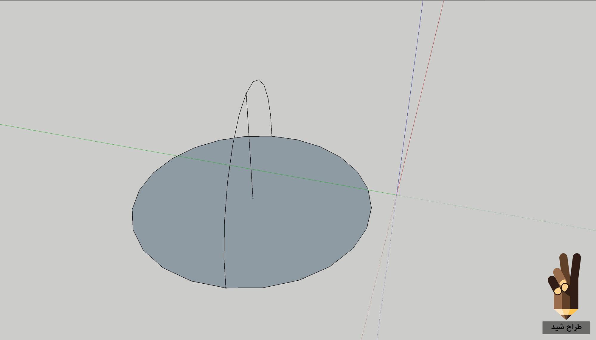 طراحی گنبد در اسکچاپ 4