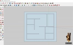 سطح سازی سریع نقشه ی اتوکدی در اسکچاپ