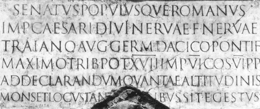 تایپوگرافی رومی ها