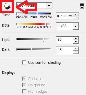 ایجاد سایه برای مدل در اسکچاپ 4