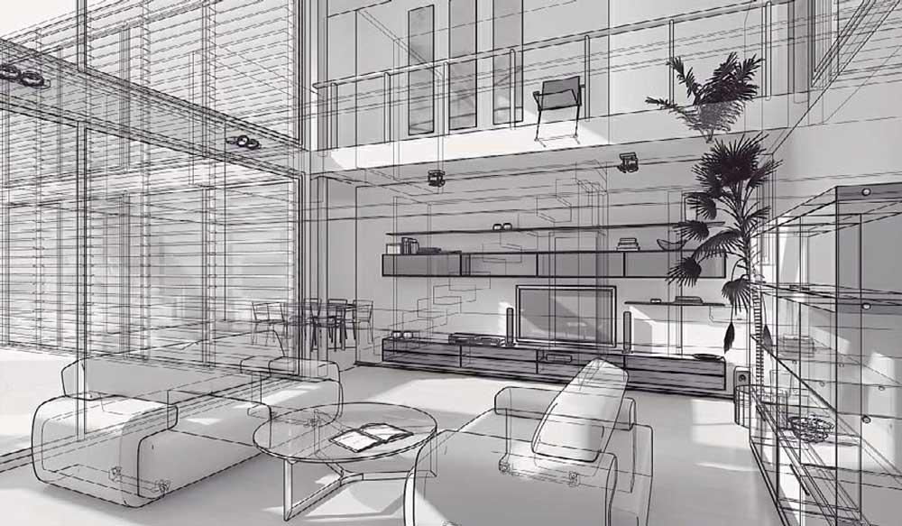 طراحی سالن نشیمن