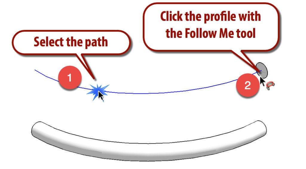follow me در اسکچاپ