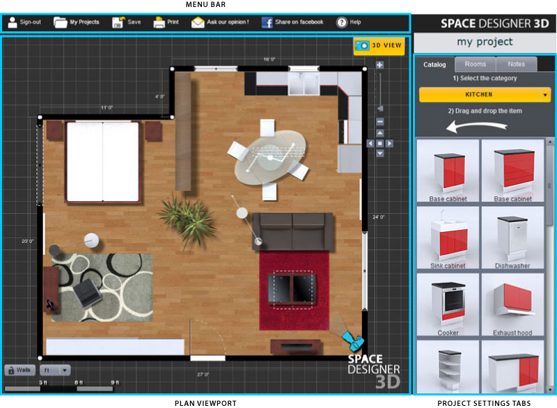 8 نرمافزار طراحی خانه برتر در سال 2019 6