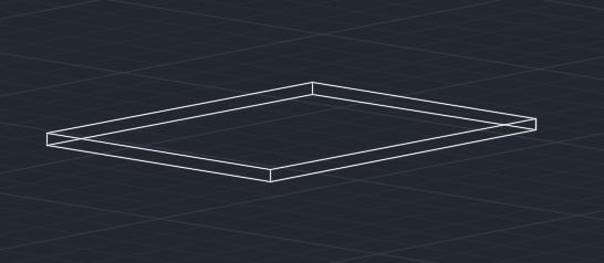 دستور rectangle در اتوکد
