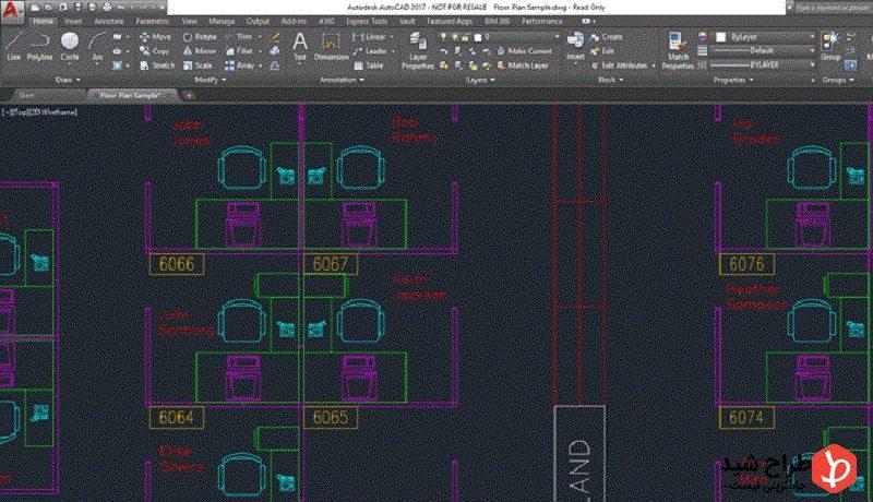 با برنامه اتوکد در معماری بیشتر آشنا شوید 1
