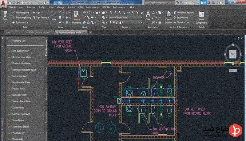 با برنامه اتوکد در معماری بیشتر آشنا شوید 3