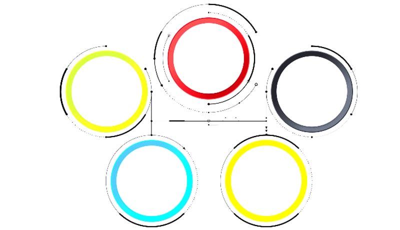 دایره در اتوکد
