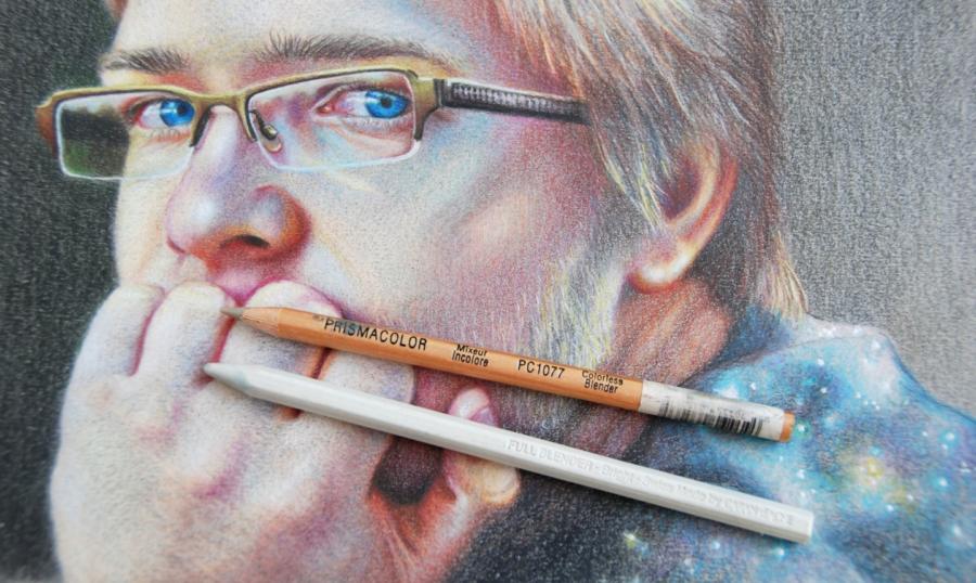 مداد رنگی نرم