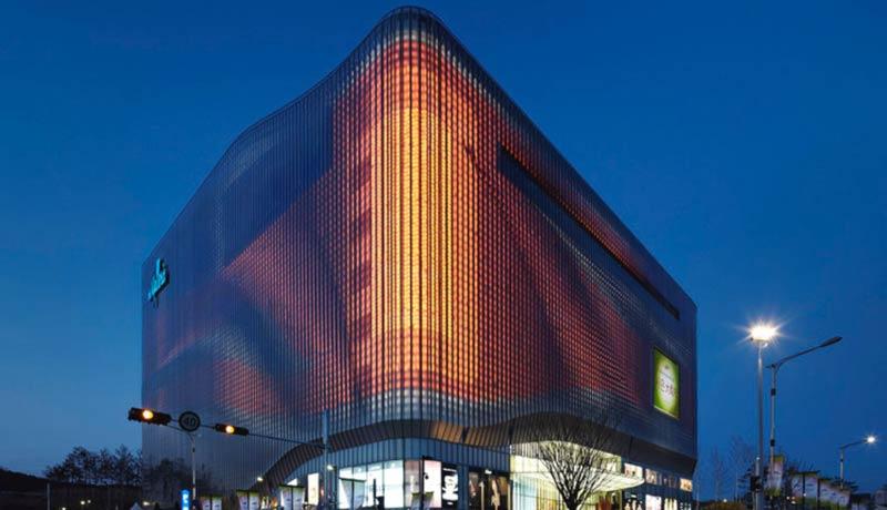 نما متحرک در معماری