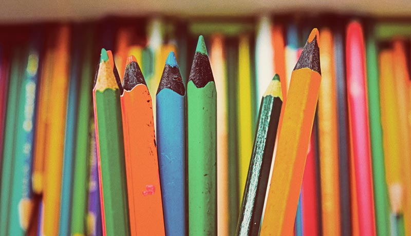 6 تکنیک نقاشی برای ارتقا سطح نقاشی با مداد رنگی 1