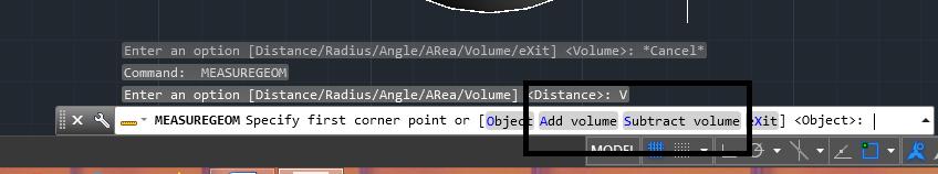 دستور volume در اتوکد | اندازه گذاری در اتوکد 8