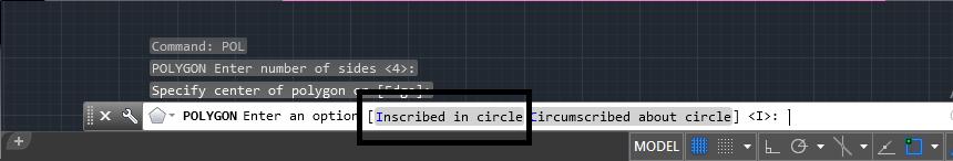 دستور polygon در اتوکد | کشیدن چندضلعی در اتوکد 1