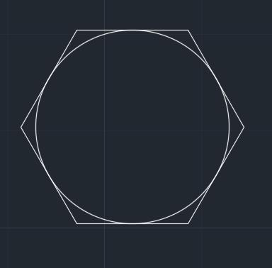 دستور polygon در اتوکد