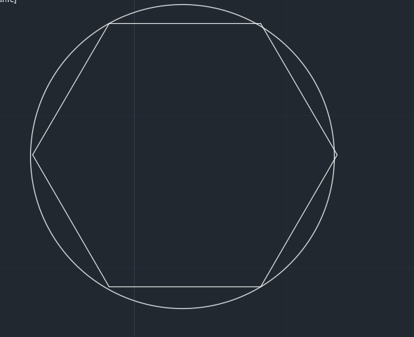 دستور polygon در اتوکد | کشیدن چندضلعی در اتوکد 2