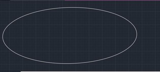 دستور ellipse در اتوکد