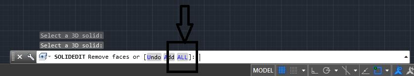 دستور shell در اتوکد سه بعدی