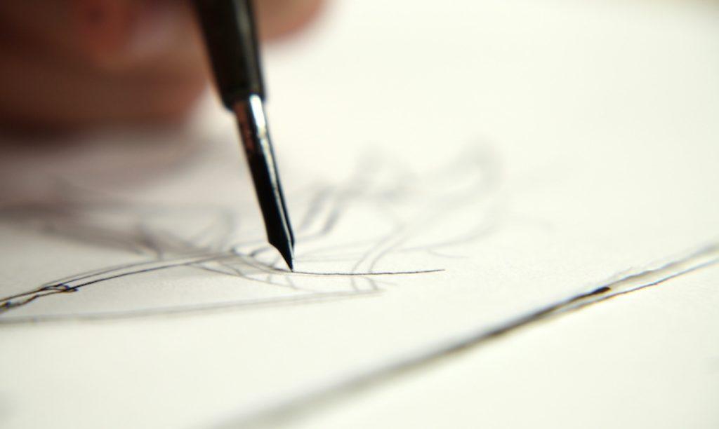 قلم های نوک فلزی