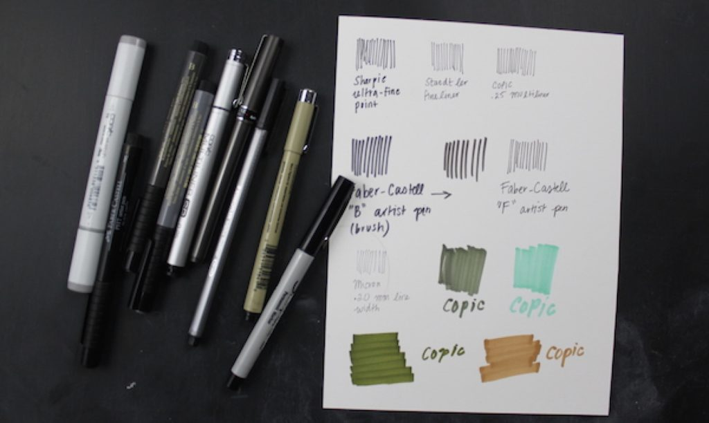 نوع گرفتن قلم در دست