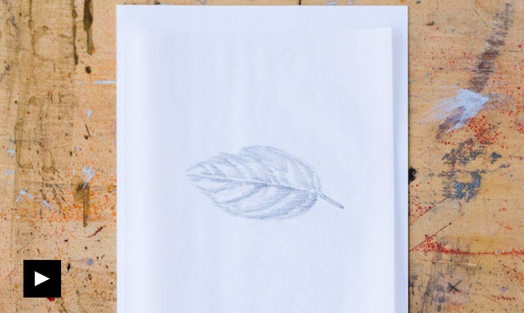 تکنیک های نقاشی روی کاغذ