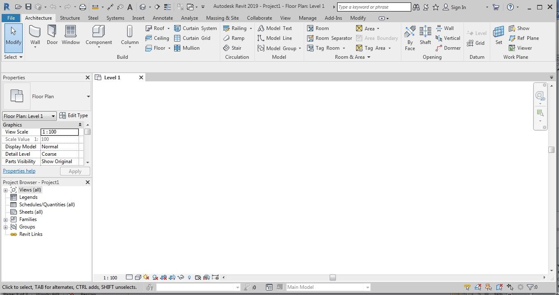 جلسه اول آموزش نرم افزار رویت معماری 7