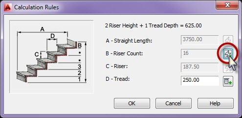 رسم انواع پله در اتوکد 7