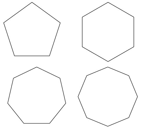 چند ضلعی در اتوکد 4