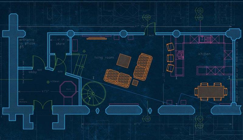 انجام پروژه اتوکد معماری