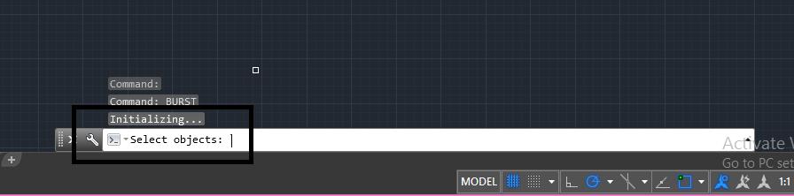 دستور burst در اتوکد | جداسازی خطوط در اتوکد 2