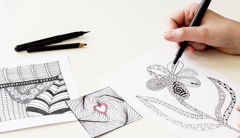 نقاشی با قلم