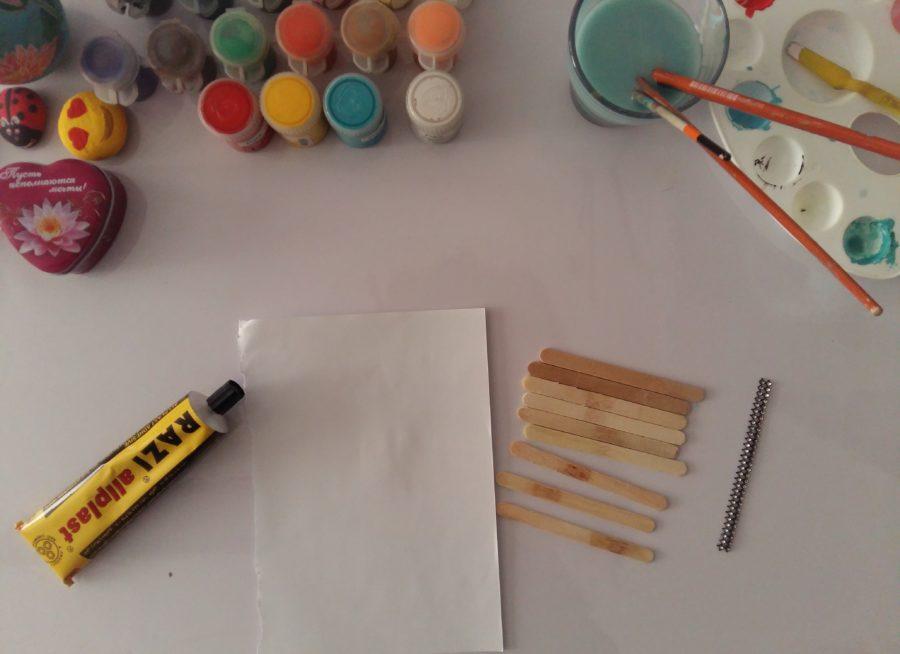 وسایل نقاشی روی چوب