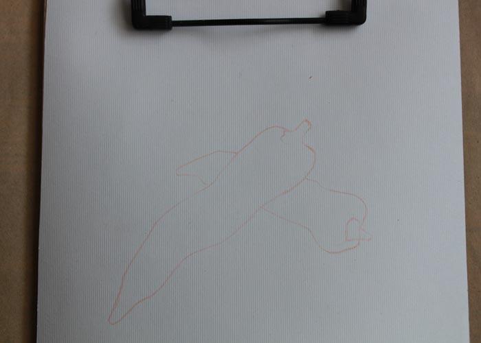نقاشی با مداد شمعی