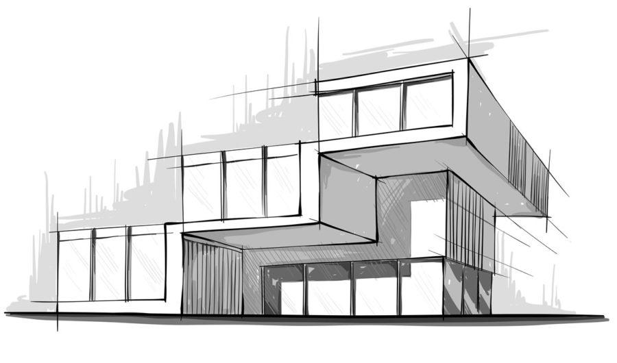آموزش پرسپکتیو در معماری